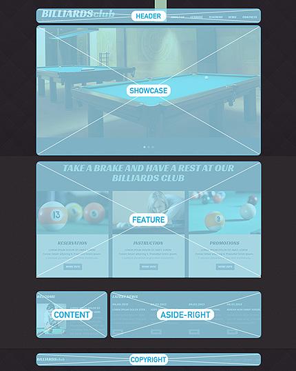 Joomla Theme/Template 48590 Main Page Screenshot