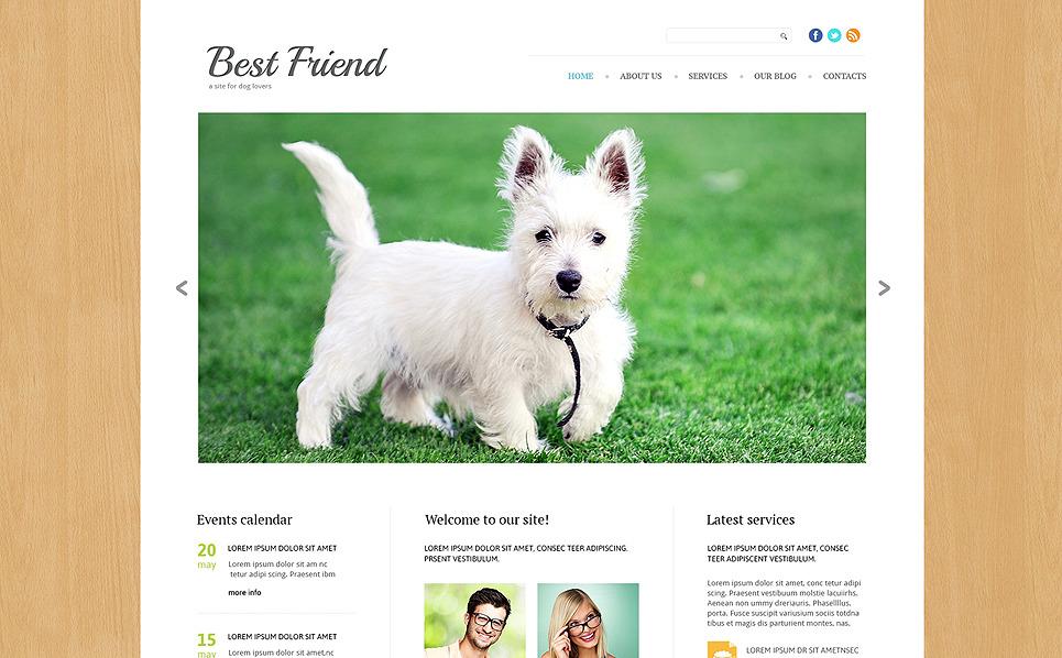 Reszponzív Kutyák Joomla sablon New Screenshots BIG