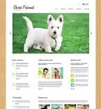 Animals & Pets Joomla  Template 48591