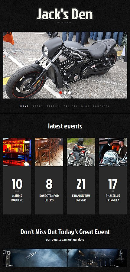 WordPress Theme/Template 48594 Main Page Screenshot