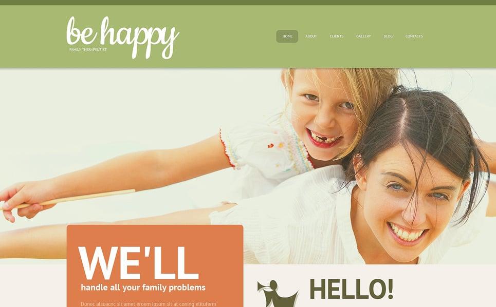 Reszponzív Családsegítő központok WordPress sablon New Screenshots BIG