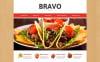 Адаптивный HTML шаблон №48501 на тему ресторан тапас New Screenshots BIG