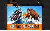 Адаптивный Joomla шаблон №48540 на тему дизайн студия New Screenshots BIG
