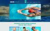 Адаптивный Joomla шаблон №48587 на тему школа плавания New Screenshots BIG