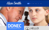 Адаптивный WordPress шаблон №48599 на тему врач New Screenshots BIG