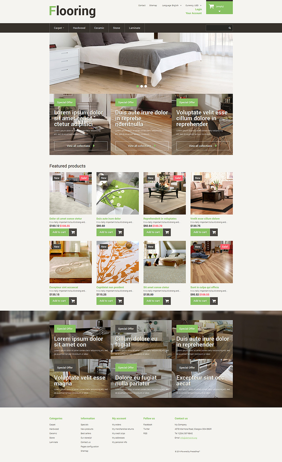 Best Flooring PrestaShop Theme New Screenshots BIG