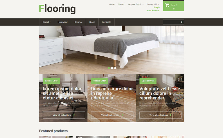 Best Flooring PrestaShop Theme