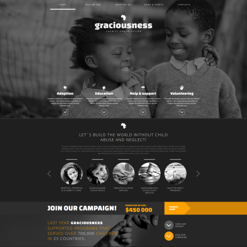 Graciousness - Joomla! Template based on Bootstrap