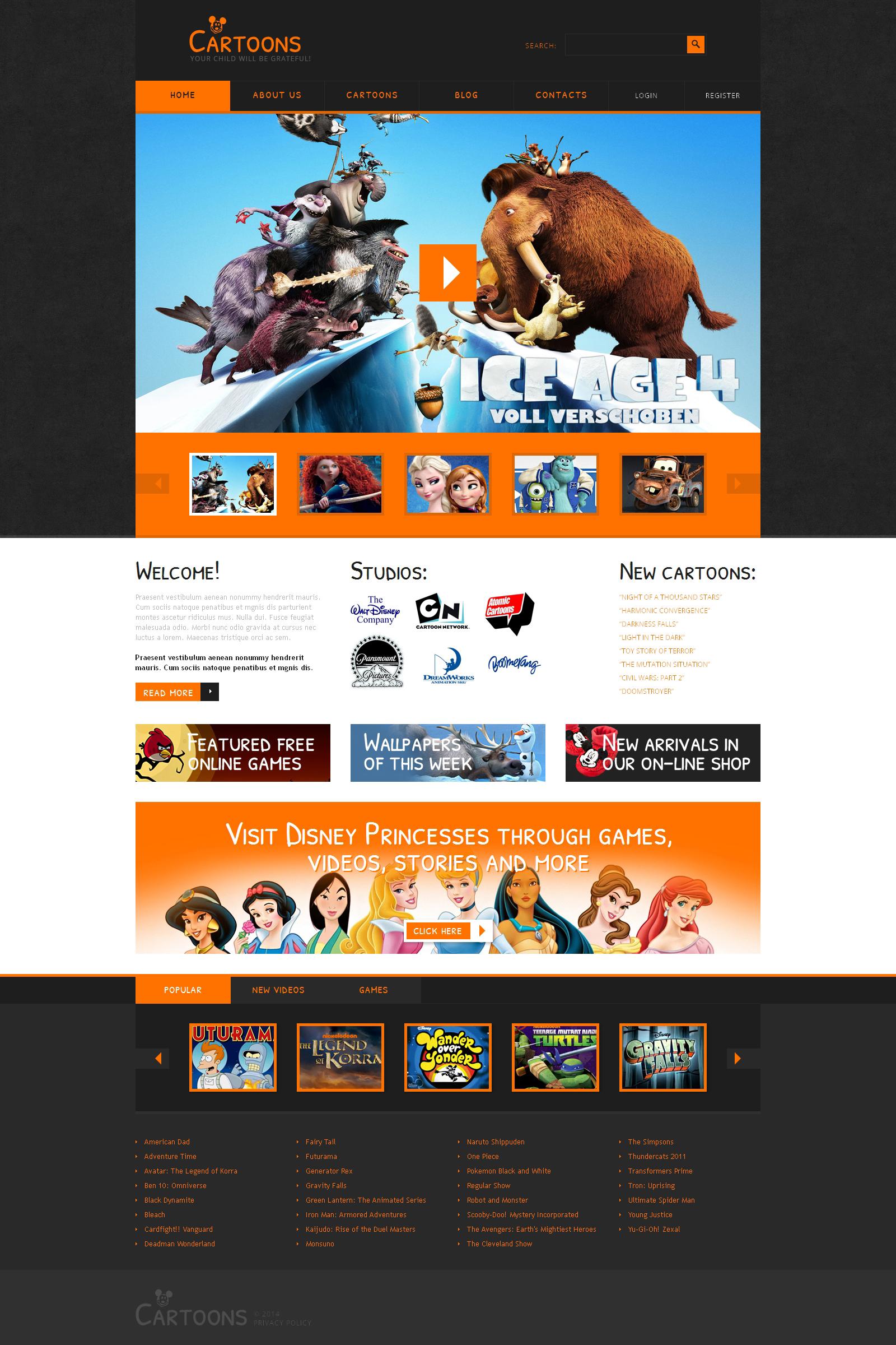 Design Studio Responsive Joomla Template - screenshot