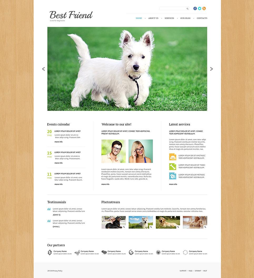 Dog Responsive Joomla Template New Screenshots BIG