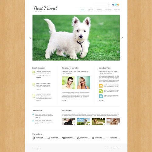 Best Friend - Joomla! Template based on Bootstrap