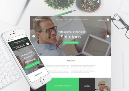 Financial Advisor Responsive