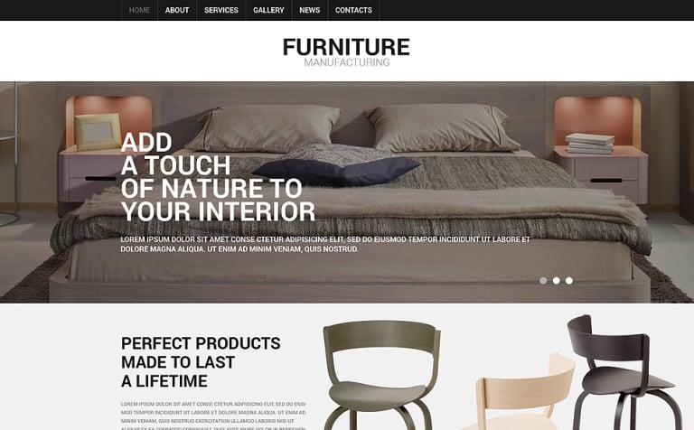 Furniture Responsive Joomla Template