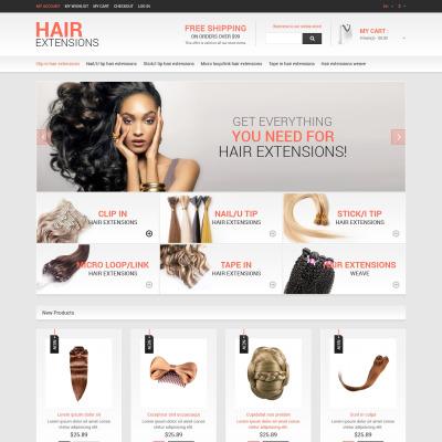Multipurpose hair extensions magento theme 51969 pmusecretfo Choice Image