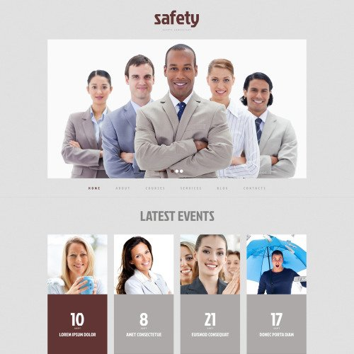 Safety - WordPress Template based on Bootstrap