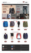 Men's Fashion WooCommerce Theme New Screenshots BIG