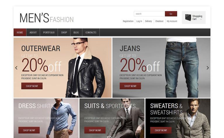 Men's Fashion WooCommerce Theme