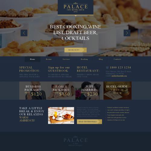Palace - HTML5 WordPress Template