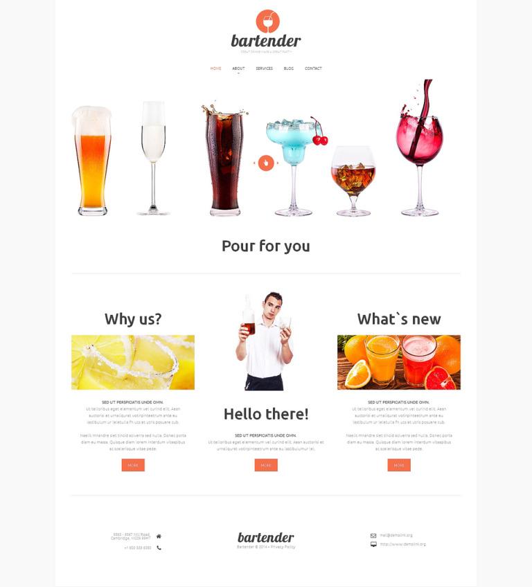 Night Club Responsive Website Template New Screenshots BIG