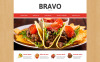 Responsive Website Vorlage für Tapas Restaurant  New Screenshots BIG