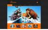 Responsywny szablon Joomla #48540 na temat: studio projektowe New Screenshots BIG