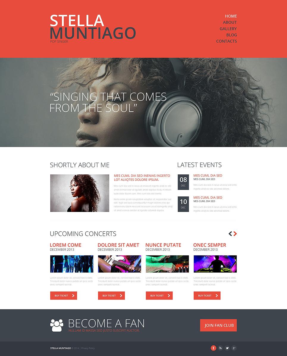 Singer Responsive Website Template New Screenshots BIG