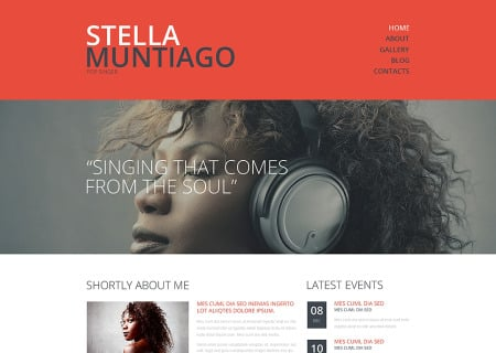 Singer Responsive