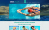 Swimming School Responsive Joomla Template New Screenshots BIG