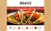 Template Web Flexível para Sites de Tapas Restaurante №48501 New Screenshots BIG