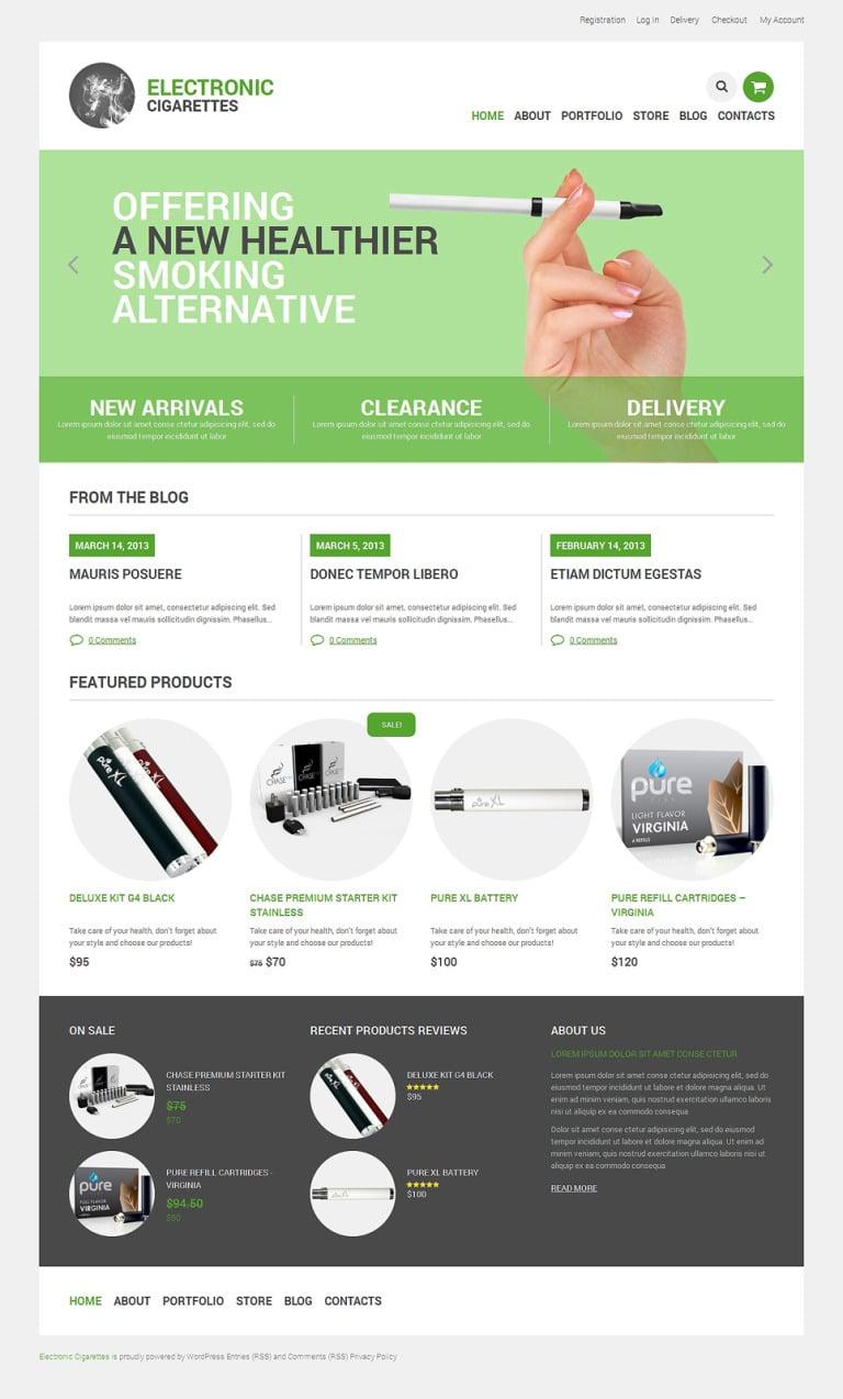 Tobacco Responsive WooCommerce Theme New Screenshots BIG