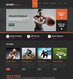 Sport WordPress Template 48602