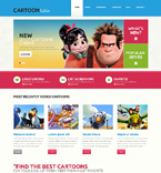 Entertainment WordPress Template 48604
