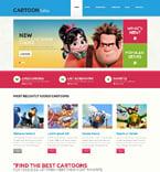 Entertainment WordPress Template 48604