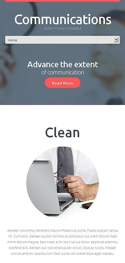 WordPress Theme/Template 48606 Main Page Screenshot
