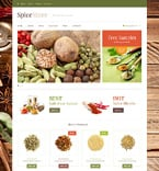 Food & Drink Jigoshop Template 48608