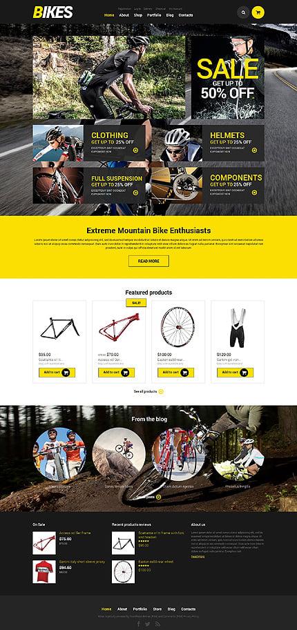 ADOBE Photoshop Template 48609 Home Page Screenshot