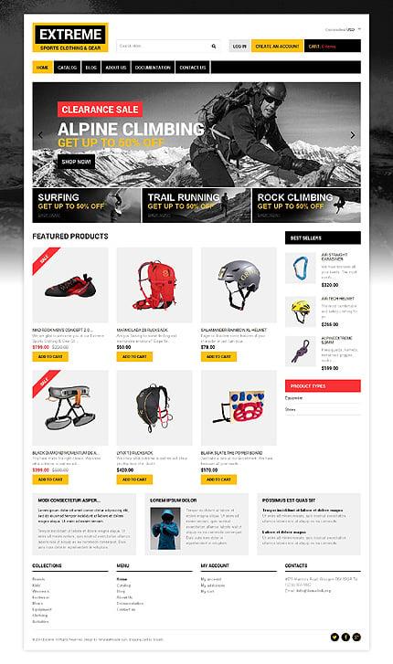 ADOBE Photoshop Template 48616 Home Page Screenshot