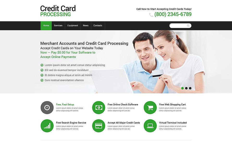 Reszponzív Bankok Weboldal sablon New Screenshots BIG
