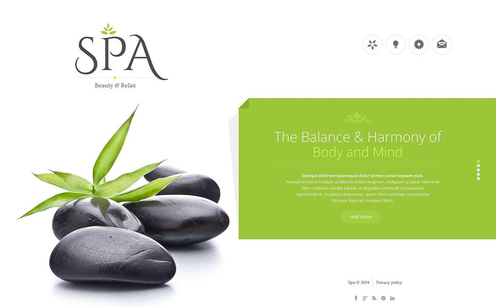 Bootstrap szablon strony www #48623 na temat: akcesoria SPA New Screenshots BIG