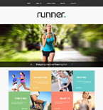 Sport Website  Template 48625