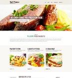 Cafe & Restaurant Website  Template 48629