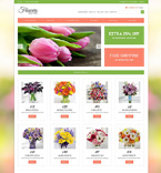 Flowers VirtueMart  Template 48632