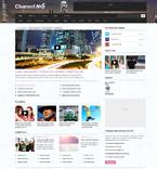 Media WordPress Template 48633