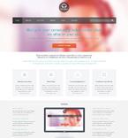 Communications WordPress Template 48634