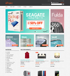 Fashion osCommerce  Template 48637