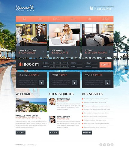 Drupal Template 48644 Main Page Screenshot