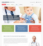 Medical Website  Template 48646
