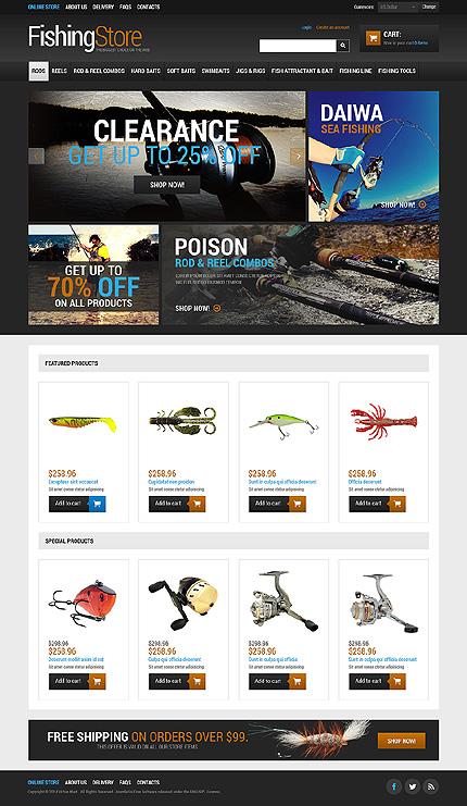 ADOBE Photoshop Template 48654 Home Page Screenshot