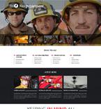 Security Website  Template 48657