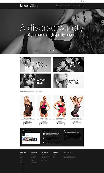 ADOBE Photoshop Template 48660 Home Page Screenshot